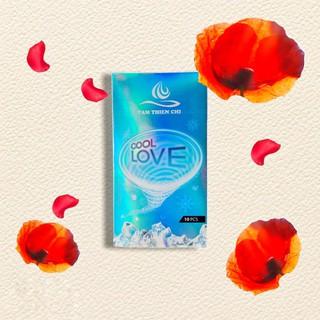 [BCS] [CHÍNH HÃNG] Bao cao su Tâm Thiện Chí COOL LOVE hộp 10 cái và Nước súc miệng tinh dầu TRÀM TRÀ sát khuẩ thumbnail
