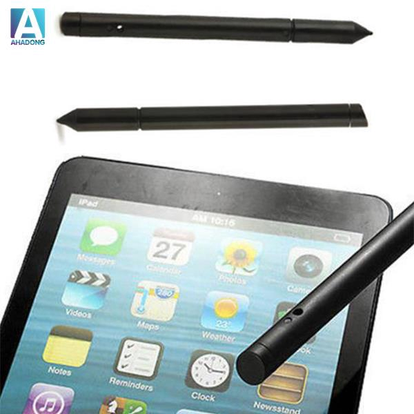 2 in 1 Touch Screen LCD Pen Stylus For iPhone iPad Samsung Tablet Universal^
