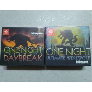 Combo ma sói onenight và onenight daybreak