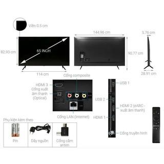 Smart Tivi QLED Samsung 4K 65 inch QA65Q60T.FULLBOX