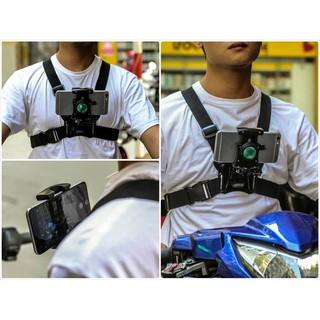 Dây Đeo Ngực Cho Điện Thoại Làm Camera Hành Trình Độc Đáo
