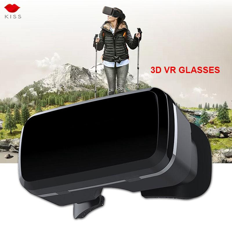 3D VR Glasses Virtual Reality Glasses Aspheric Lens Head-Mounted Mobile Phone Travel Movies Universal Multifunctional