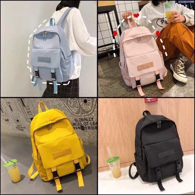 Balo thời trang, đi học, đựng laptop - BALO NẮP