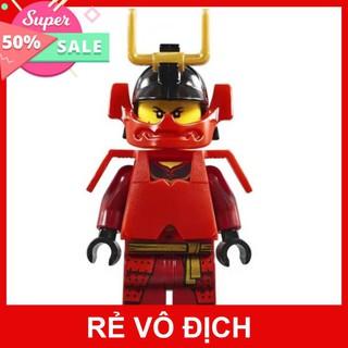 Sale 11.11 Đồ Chơi Xếp Hình Lego Ninja Robot Samurai Đỏ. Xếp Hình LeGo Bé Trai . Movie 06093 Gồm 154 Chi Tiết