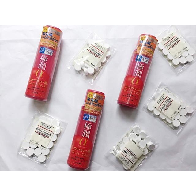 Nước hoa hồng Hadalabo Gyokujun Alpha 3D Hyaluronic Acid - 2635940 , 206969748 , 322_206969748 , 280000 , Nuoc-hoa-hong-Hadalabo-Gyokujun-Alpha-3D-Hyaluronic-Acid-322_206969748 , shopee.vn , Nước hoa hồng Hadalabo Gyokujun Alpha 3D Hyaluronic Acid