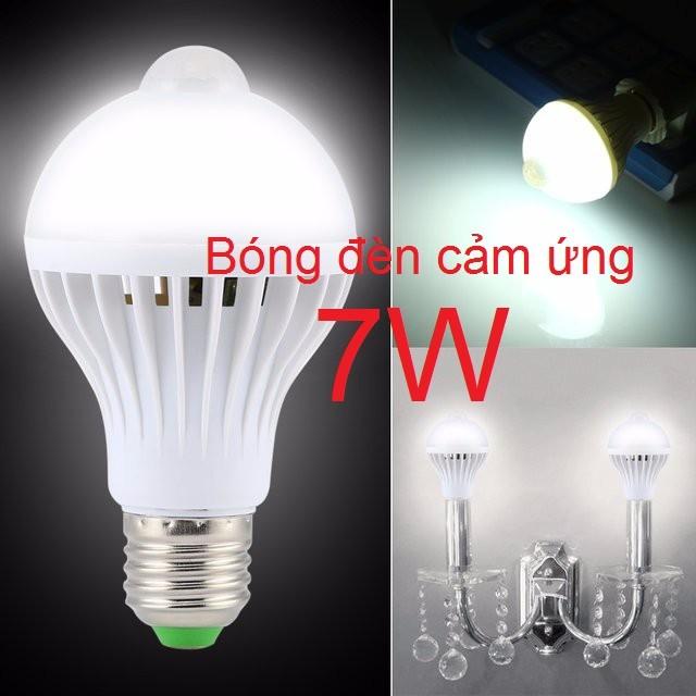 7W - Bóng đèn cảm ứng hồng ngoại
