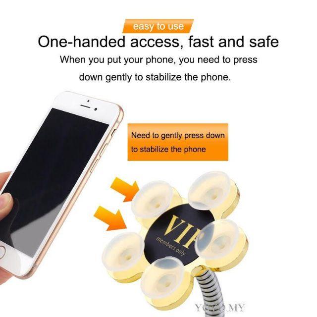 Đế hít điện thoại xoay 360 độ