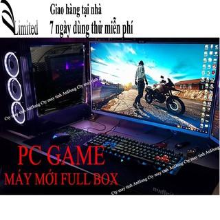[MÁY MỚI] Bộ máy tính chơi game Sinh Viên màn 20 inch mới HIỆU NĂNG CAO GIÁ SẬP SÀN