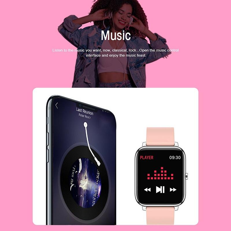 Đồng Hồ Đeo Tay Thông Minh Cảm Ứng Chống Nước Cho Iphone Android Yxbest1