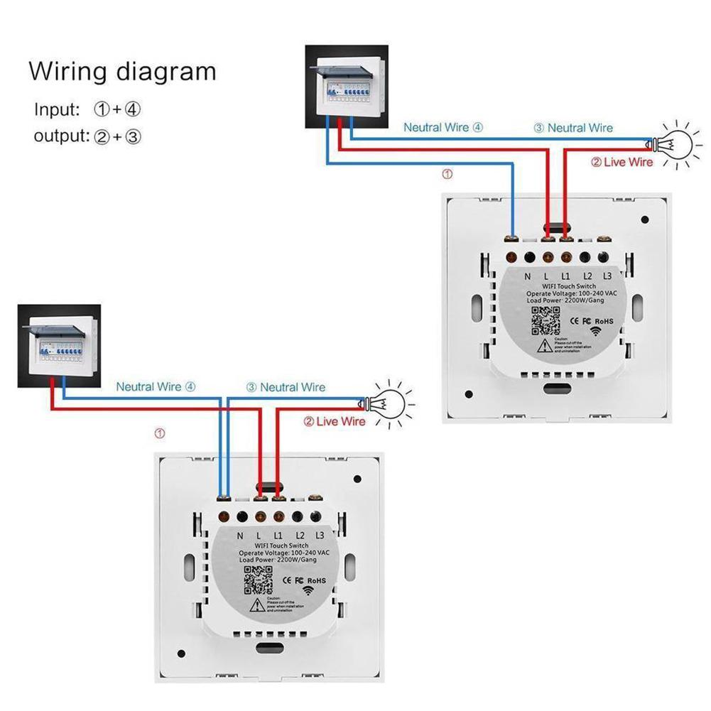 How To Wire Smart Light Switch Uk - Somurich com