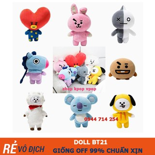 [Miễn ship_Ảnh Thật] Doll BT21 loại xịn gấu bông bt21 có chân tay cao lên đến 40cm