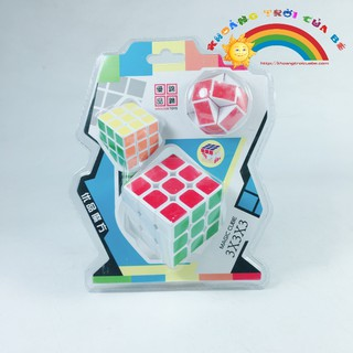 Mua Đồ Chơi Bộ đồ chơi Rubik Cube KC1374 [THÔNG MINH – SÁNG TẠO]