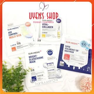 Mặt nạ Sur.Medic Bright Glutathione Aqua Vital Collagen Age Control-Multi Vita Mask thumbnail