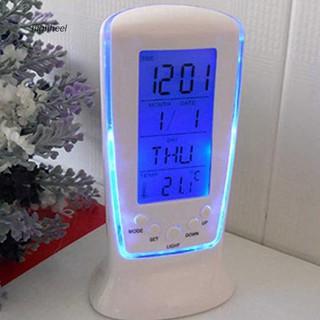 Đồng hồ báo thức có đèn LED và màn hình hiển thị kỹ thuật số