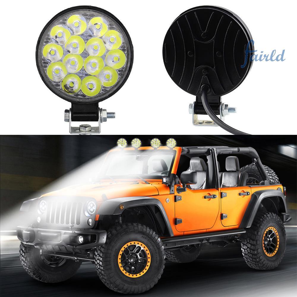 2pcs 42W 14-LED Waterproof Flood Bulb Spot Lamp Universal Car Truck Replacements Working Lights - 23069843 , 3116193995 , 322_3116193995 , 111000 , 2pcs-42W-14-LED-Waterproof-Flood-Bulb-Spot-Lamp-Universal-Car-Truck-Replacements-Working-Lights-322_3116193995 , shopee.vn , 2pcs 42W 14-LED Waterproof Flood Bulb Spot Lamp Universal Car Truck Replace