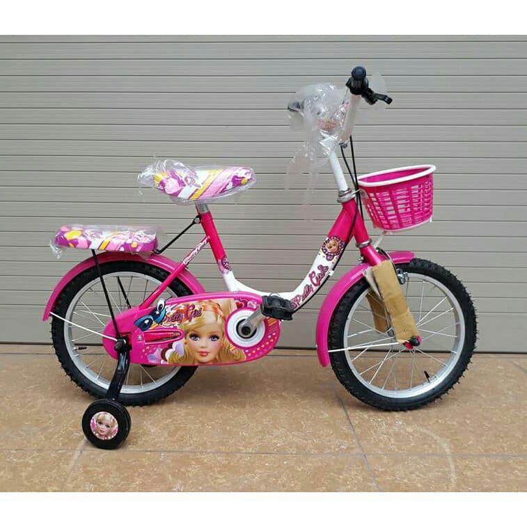 Xe đạp cho bé gái 5-8 tuổi (khung ngang/khung võng)