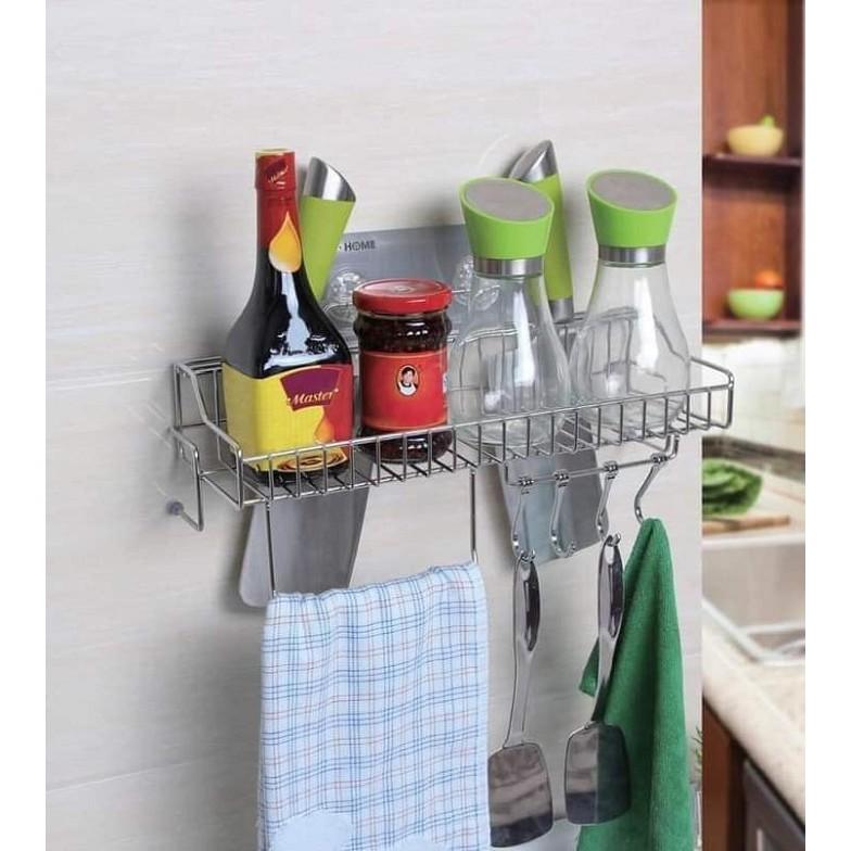 Kệ nhà bếp đa năng dán tường cao cấp Gi-Home (Gi-82420)