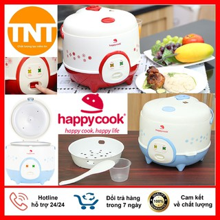 Nồi Cơm Điện Happy Cook Dung Tích 1.2 Lít Và 1.8 Lít ( HC120 - HC180) Tặng Kèm Giá Hấp, Hàng Cao Cấp