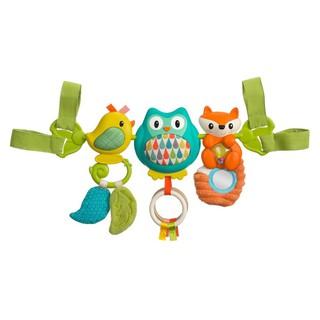 Thanh đồ chơi treo nôi, cũi, xe đẩy, ghế ngồi ô tô hình chim có nhạc Infantino 216265
