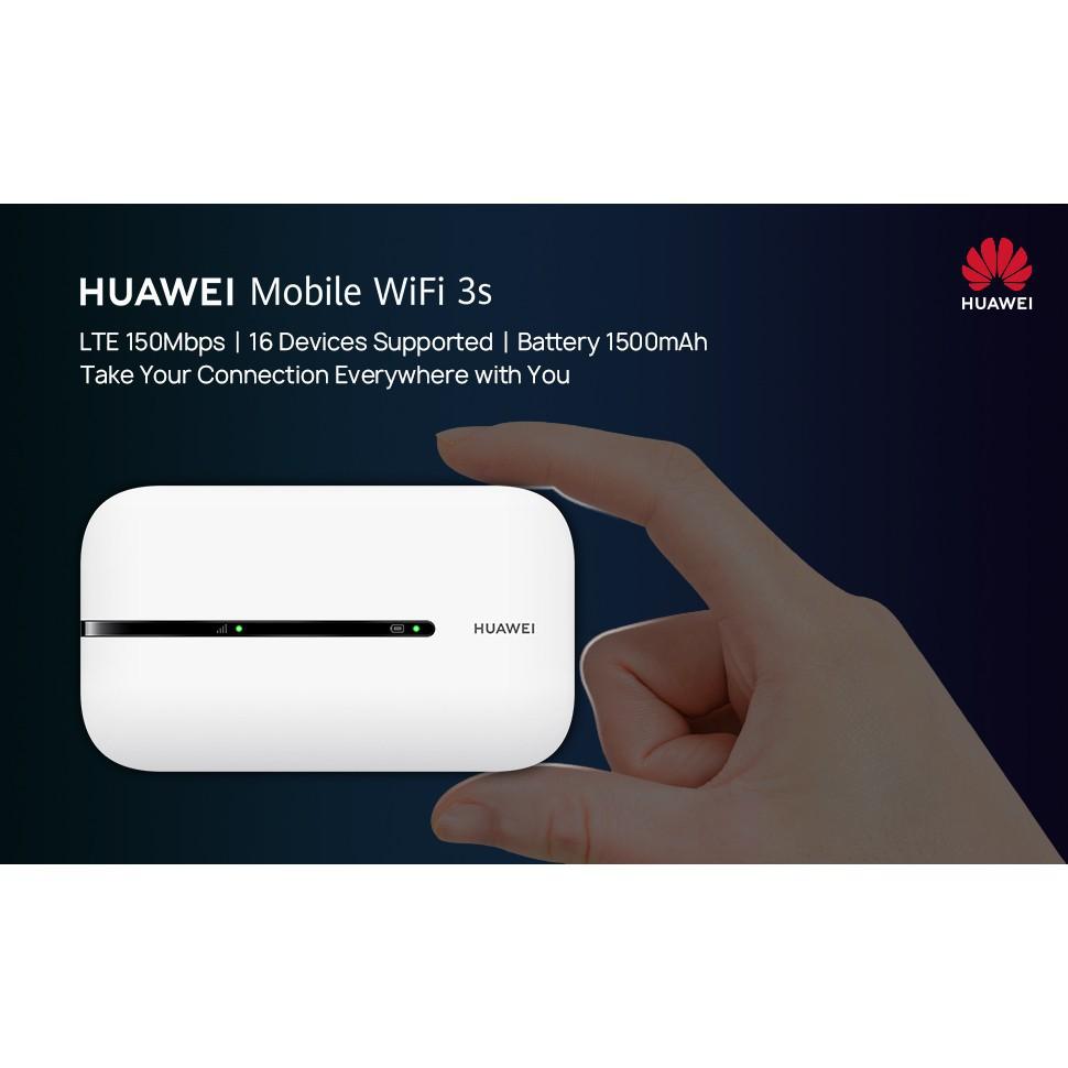 [Mã ELMALL300K giảm 5% đơn 500K] Bộ phát wifi Huawei 4G LTE 3S E5576-320 150Mbps - Bảo hành 12 tháng chính hãng