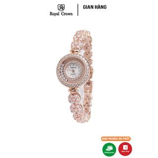 Đồng hồ nữ Chính Hãng Royal Crown 5308 Jewerry Rose Gold thumbnail