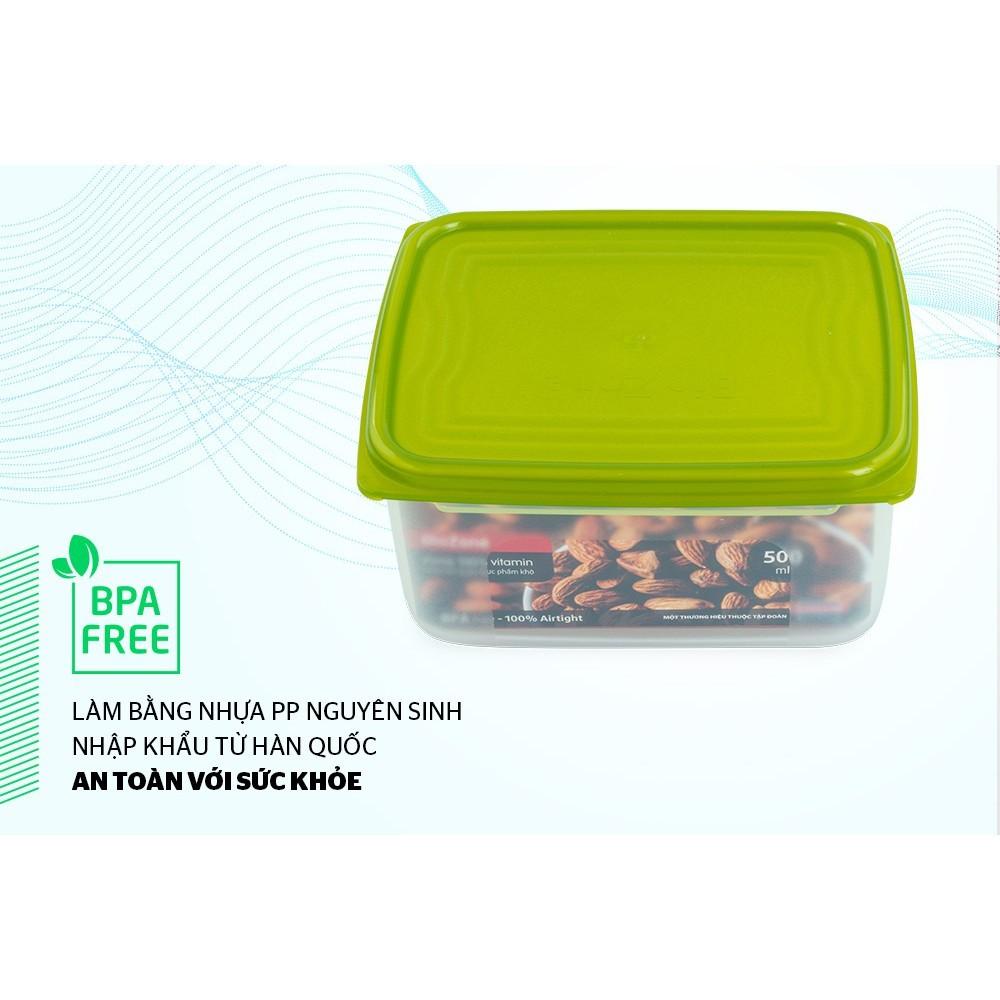 Hộp bảo quản thực phẩm khô BioZone 500ml