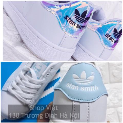 Giày Stan Smith Bạc và Xanh baby blue và size nữ 36-39 - 2904941 , 409476602 , 322_409476602 , 230000 , Giay-Stan-Smith-Bac-va-Xanh-baby-blue-va-size-nu-36-39-322_409476602 , shopee.vn , Giày Stan Smith Bạc và Xanh baby blue và size nữ 36-39