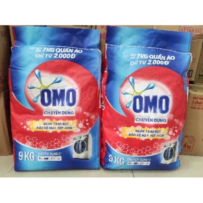 Bột Giặt OMO Chuyên Dụng 9kg( Dùng cho máy giặt cửa trên,cửa trước& giặt tay)