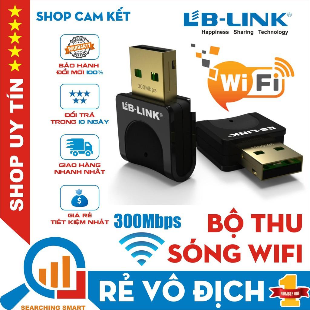Bộ thu sóng wifi LB-LINK BL-WN351 300Mbps - Bảo hành chính hãng 24 tháng