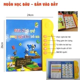Sách quý song ngữ dành cho trẻ em ( Hàng loại 1 + có pin)