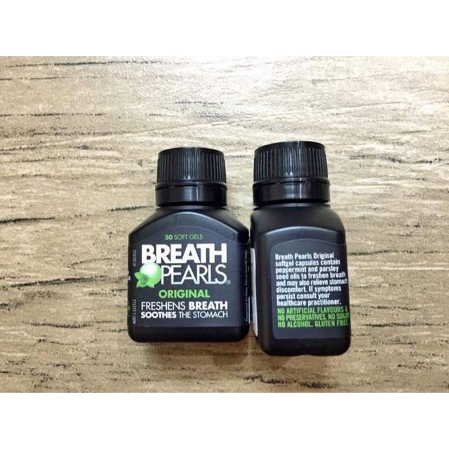 Viên uống thơm miệng Breath Pearls hộp 50 viên của Úc - 3257493 , 1219856598 , 322_1219856598 , 180000 , Vien-uong-thom-mieng-Breath-Pearls-hop-50-vien-cua-Uc-322_1219856598 , shopee.vn , Viên uống thơm miệng Breath Pearls hộp 50 viên của Úc