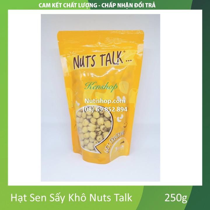 Hạt Sen Sấy Khô Nuts Talk 250g Hạt Sen Sấy Khô Nuts Talk 250g