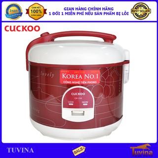 Nồi Cơm Điện Cuckoo CR-1122 2.0 Lít 2L - Hàng Chính Hãng (Bảo Hành Toàn Quốc 2 Năm)