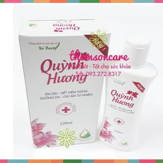 Nước rửa phụ khoa Quỳnh Hương - Nước rửa vệ sinh phụ nữ Chính hãng thumbnail