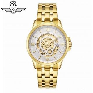 Đồng hồ nam SRWATCH SG8894.1402 trắng mặt tròn kính Sapphire máy bằng thép không gỉ được mạ vàng sáng bóng công nghệ PVD thumbnail
