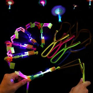 Novel Gadgets Kids Boy Toy flying Glow Flash Dragonfly Night Party LED Light Up thumbnail