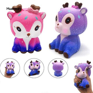 ★Hu Galaxy Cute Deer Squishy Slow Rising Kids Adults Squeeze Toys Stress Reliever mã số sp GB1846