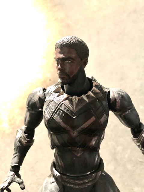 Head Black Panther tỷ lệ 1/12 cho SHF