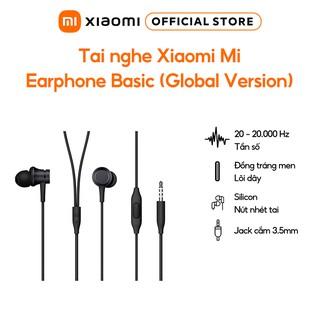 Tai nghe Xiaomi Mi Earphone Basic (Global Version) Hàng chính hãng Bảo hành 6 tháng thumbnail