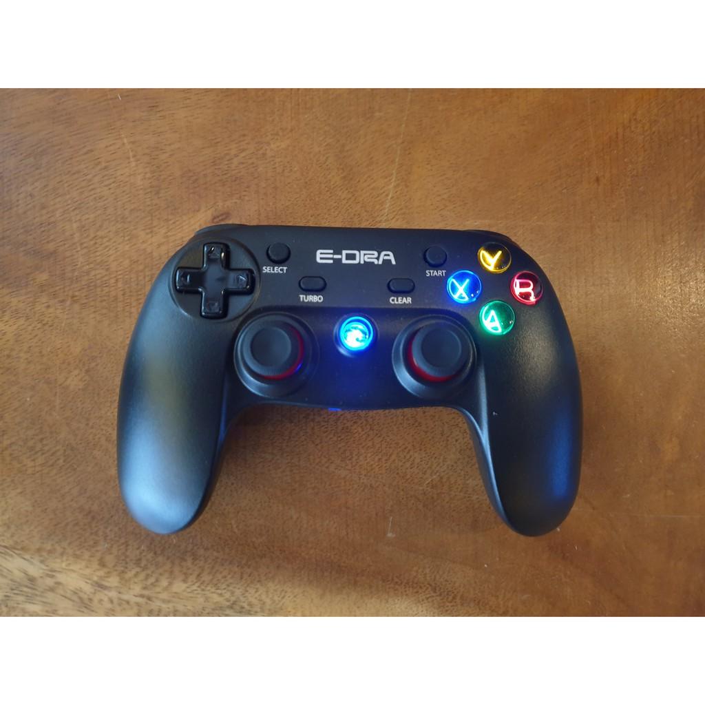 Tay cầm chơi game không dây Edra EGP7601 trên PC và điện thoại Android/Androi TV | Chính Hãng Giá Rẻ