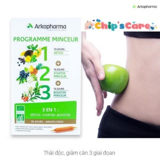 Detox giảm cân Arkopharma thumbnail