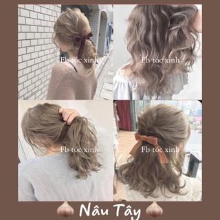 [KHÔNG TẨY] Thuốc nhuộm tóc màu nây tây thumbnail