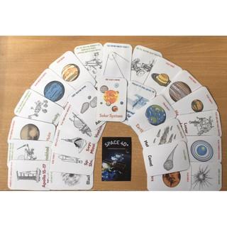 [Bộ 26 Thẻ Space 4D – Ko Ép Plastic] Thẻ Không Gian 4D:có màu, Tiếng Việt 2 mặt cho Bé Khám Phá Vũ Trụ đầy huyền ảo.