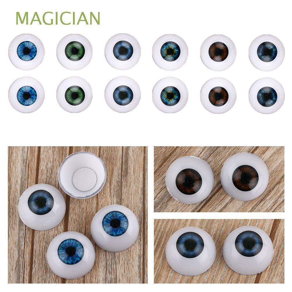 20mm 22mm 24mm Animal Kids Toy Real Like Blue Brown Black Accessories Eyeballs