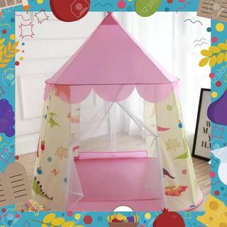 [Giá Rẻ Nhất] Lều bóng công chúa hoàng tử hoa văn