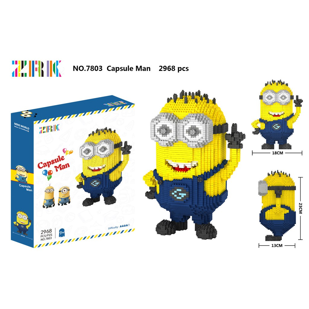 Lego nano ZRK 7803 2968miếng ghép NLG0029-2 #NAMLEGO