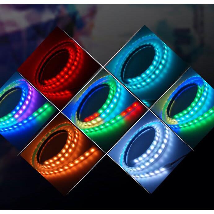 Dây Đèn Kevanly RGB / Chống Thấm Nước Cho Xe Hơi 1.2m / 1.5m
