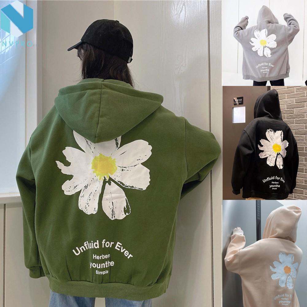 [Mã WASEPRN hoàn 20% xu đơn 99k] [Video] Áo khoác UNISEX hoa cúc Form 85kg nam nữ bận đẹp Chất Nỉ Ngoại cao cấp C109