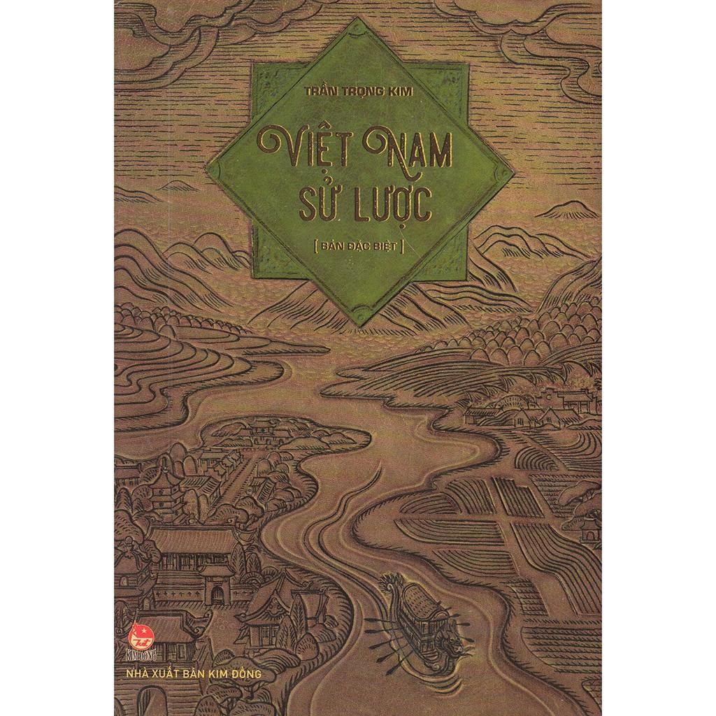 [ Sách ] Việt Nam Sử Lược (Bản Đặc Biệt - Ấn Bản Kỉ Niệm 60 Năm NXB Kim Đồng)