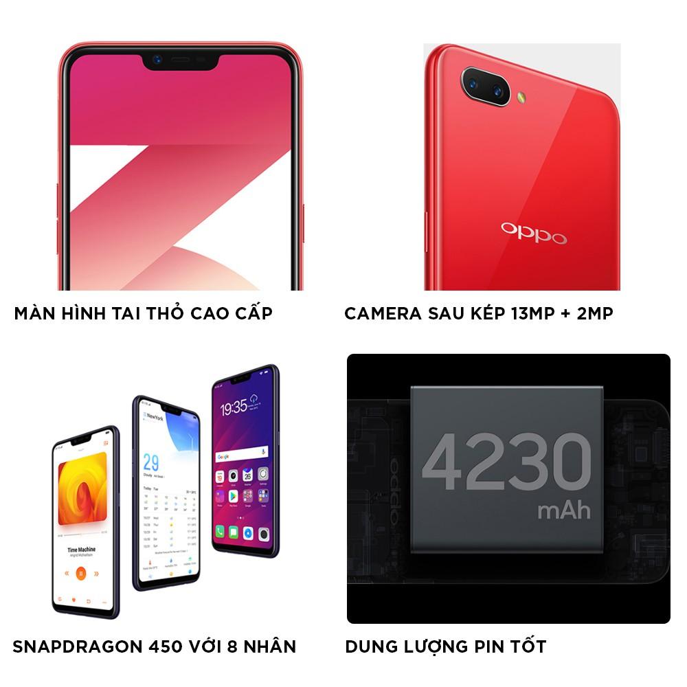 Hình ảnh [Trả góp 0%] Điện thoại OPPO A3s 16GB - Hãng phân phối chính thức-1